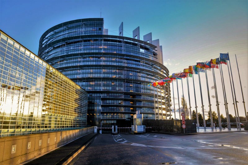 evropski parlament strasbourg low zastave 2