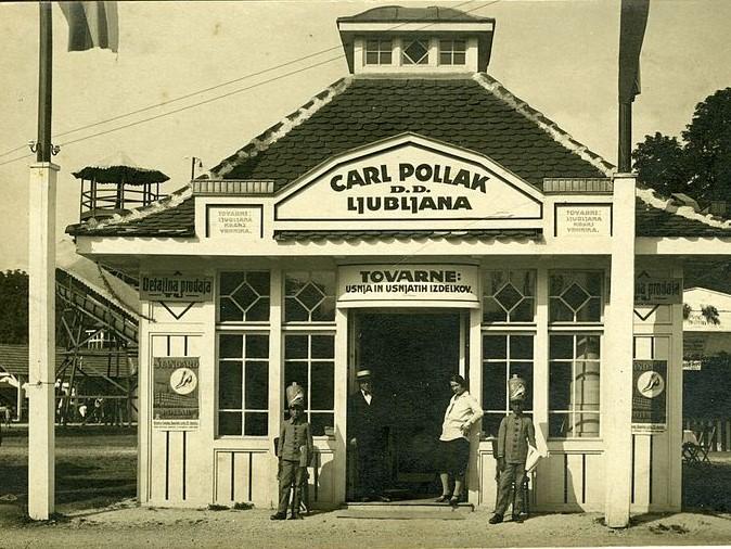 Carl Pollak industrija usnja in usnjarskih izdelkov Ljubljana 1920