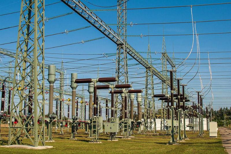 Electricity High Voltage Substation 1705954