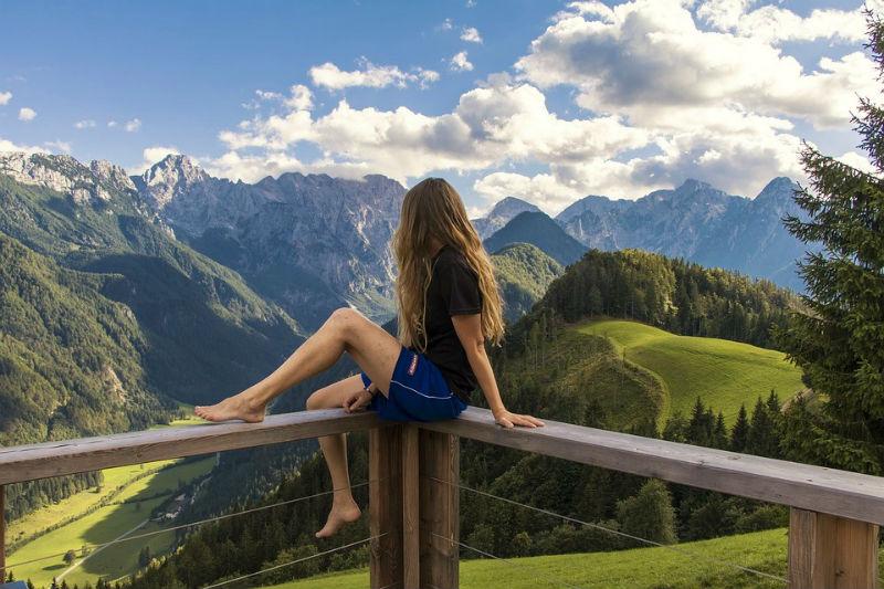 Slovenia Mountains Nature Europe Landscape Alps 1703346