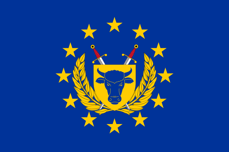 European Army Flag