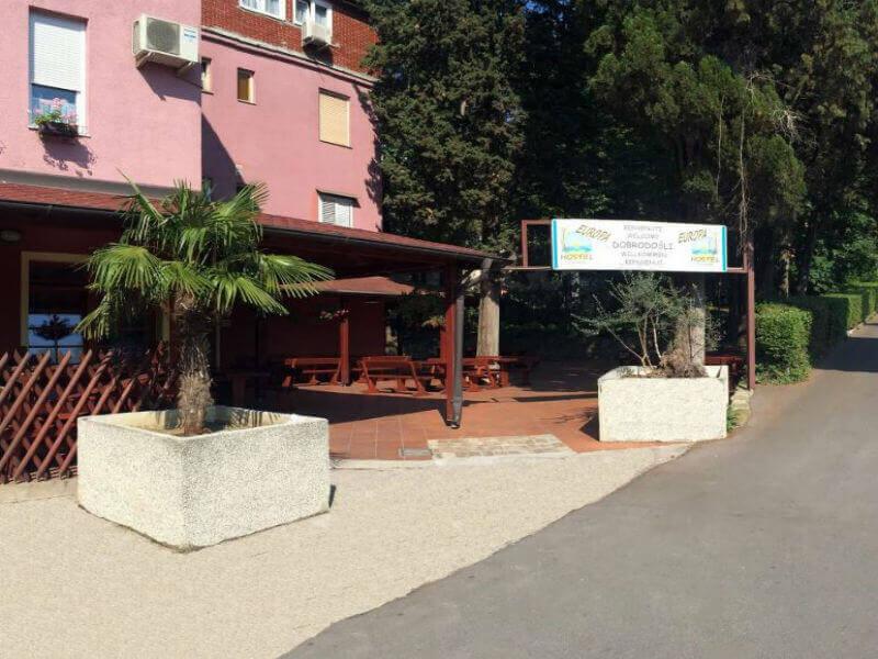 Europa Hostel Portorož najboljša ideja za najugodnejšo ceno v centru Portoroža