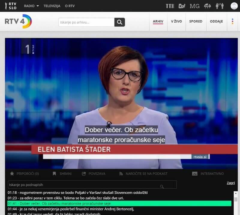 RTV SLO prek spleta po vsej EU in dokumentarec Slovenec po izbiri