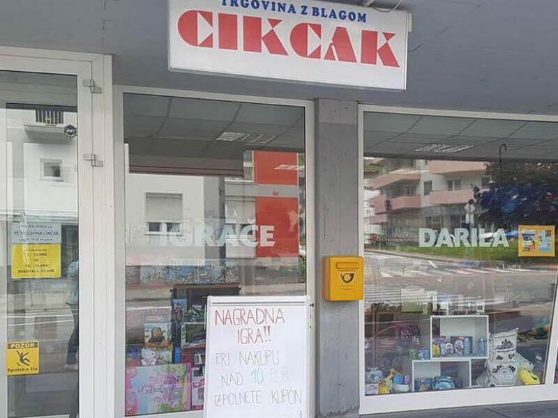Računovodski servis Enka in Trgovina CIKCAK 2
