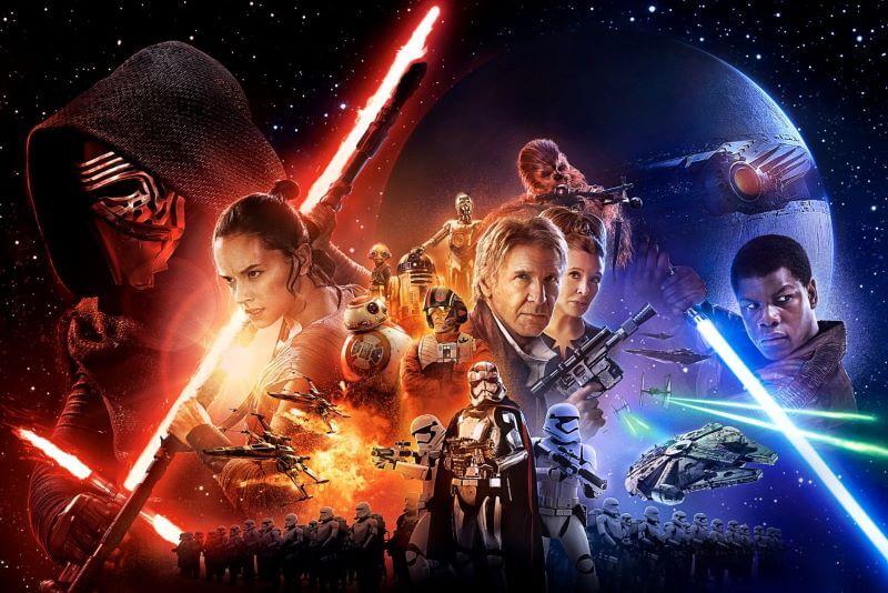 Decembra na Planetu kar 8 filmov franšize Vojne zvezd