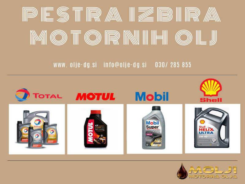 Motorno olje za brezhibno delovanje prevoznega sredstva 1