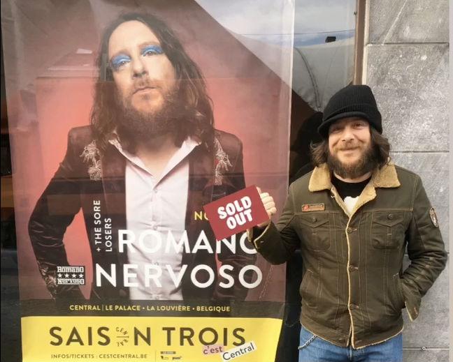 Romano Nervoso in spaghetti rock v izolskem Hangarju ter v Gala Hali