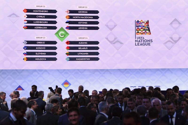 Slovenija jeseni proti Grčiji Moldaviji in Kosovu
