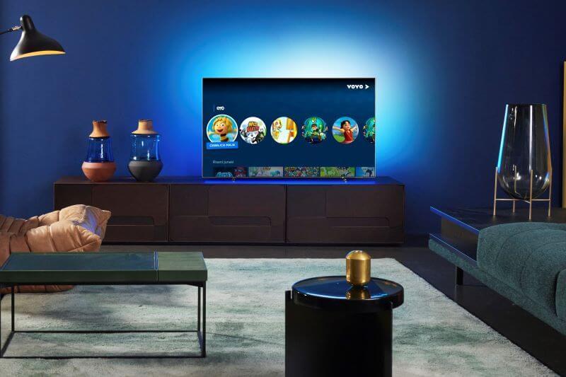 VOYO s sodobno aplikacijo za novejše pametne televizorje PHILIPS