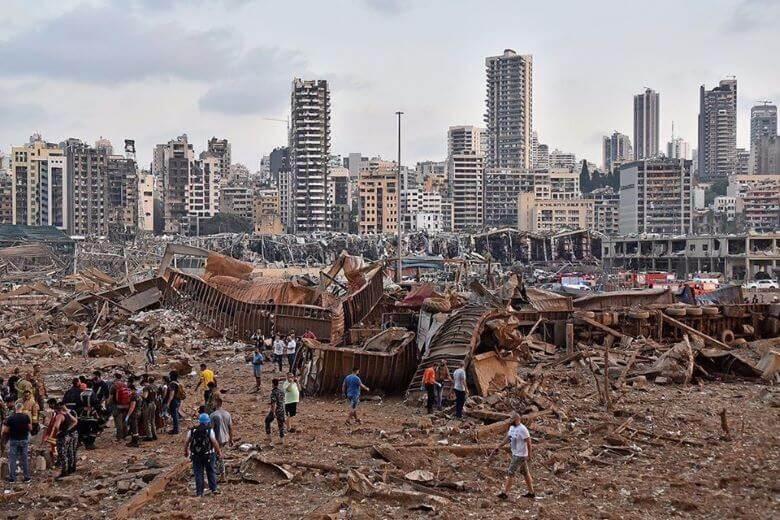 Evropa pomaga nesrečnemu Libanonu