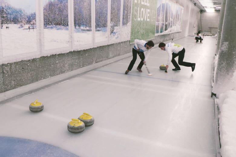 V Planici bodo tržili tudi curling in disk golf