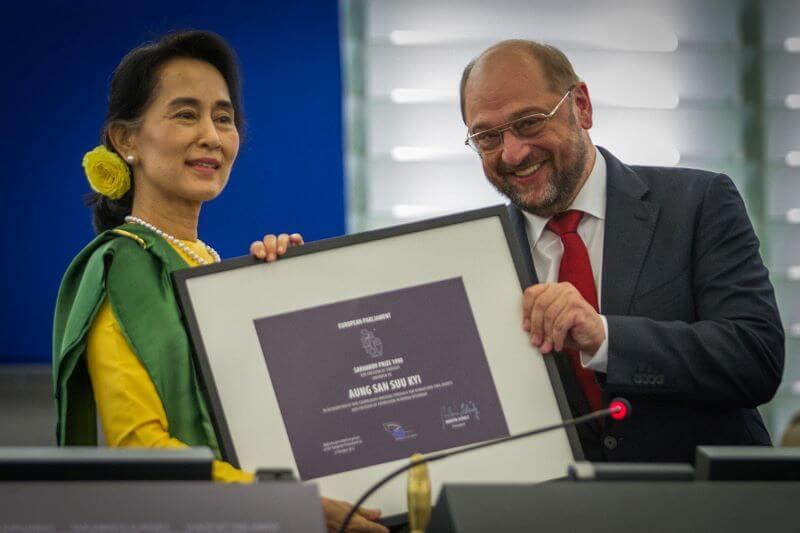 Sramotna izključitev Nobelove nagrajenke za mir