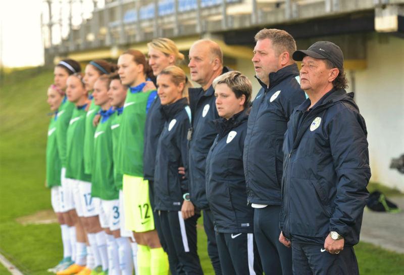 Za slovenske nogometašice štejejo samo zmage