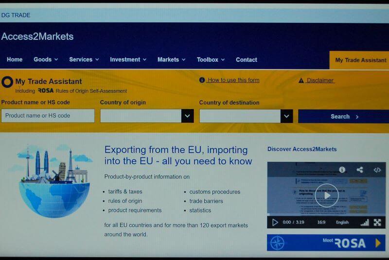 Nov portal EU za spodbujanje mednarodnega trgovanja MSP