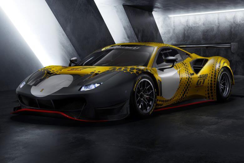 488 GT Modificata za poln izkoristek vseh Ferrarijevih konjev