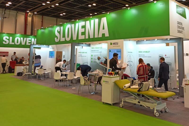 Slovenija je zelo aktivna na Pre Expu