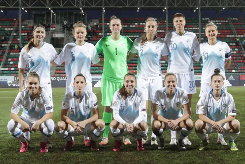 Zadnji letošnji nastop slovenske ženske nogometne reprezentance