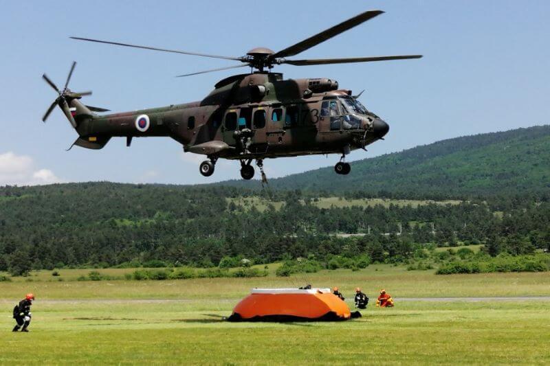 Letos so helikopterji Slovenske vojske pomagali že več kot 600 ljudem