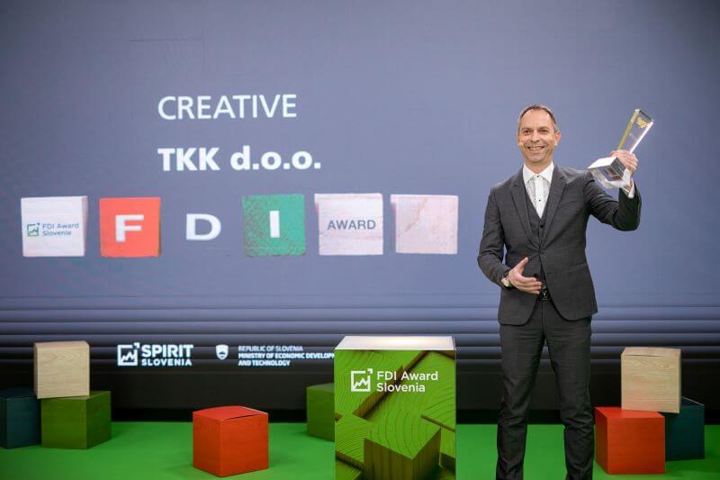 Razglasili so dobitnike nagrad FDI Award Slovenia 2020 za najboljše tuje investitorje