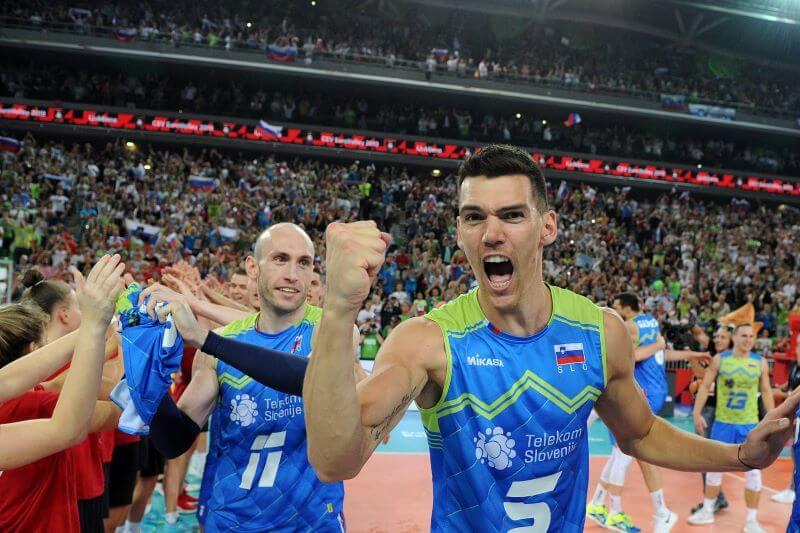 Slovenski odbojkarji drugič na svetovnem prvenstvu