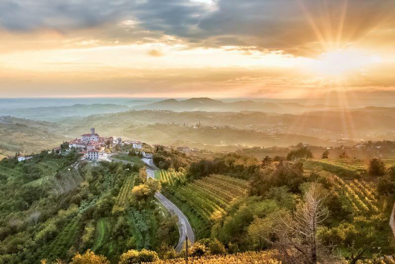 Občina Brda se bo potegovala za Nagrado Sveta Evrope za krajino