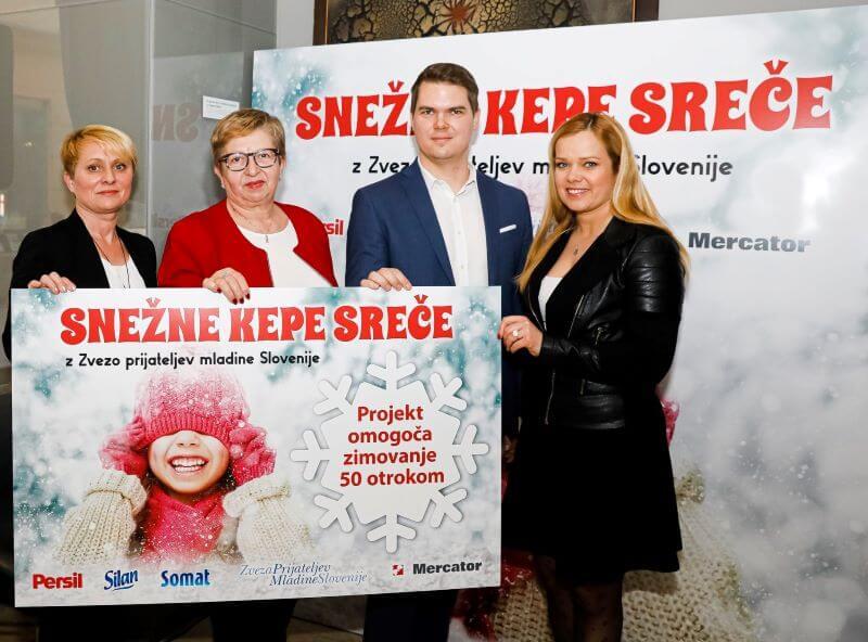 Snežne kepe bodo letos osrečile sto slovenskih družin