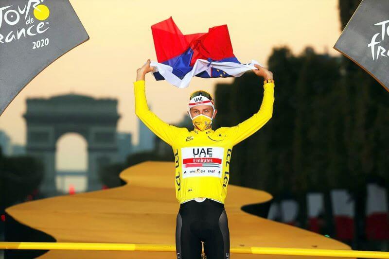 Tudi zvezdnik svetovnega kolesarstva Tadej Pogačar bo promoviral Slovenijo