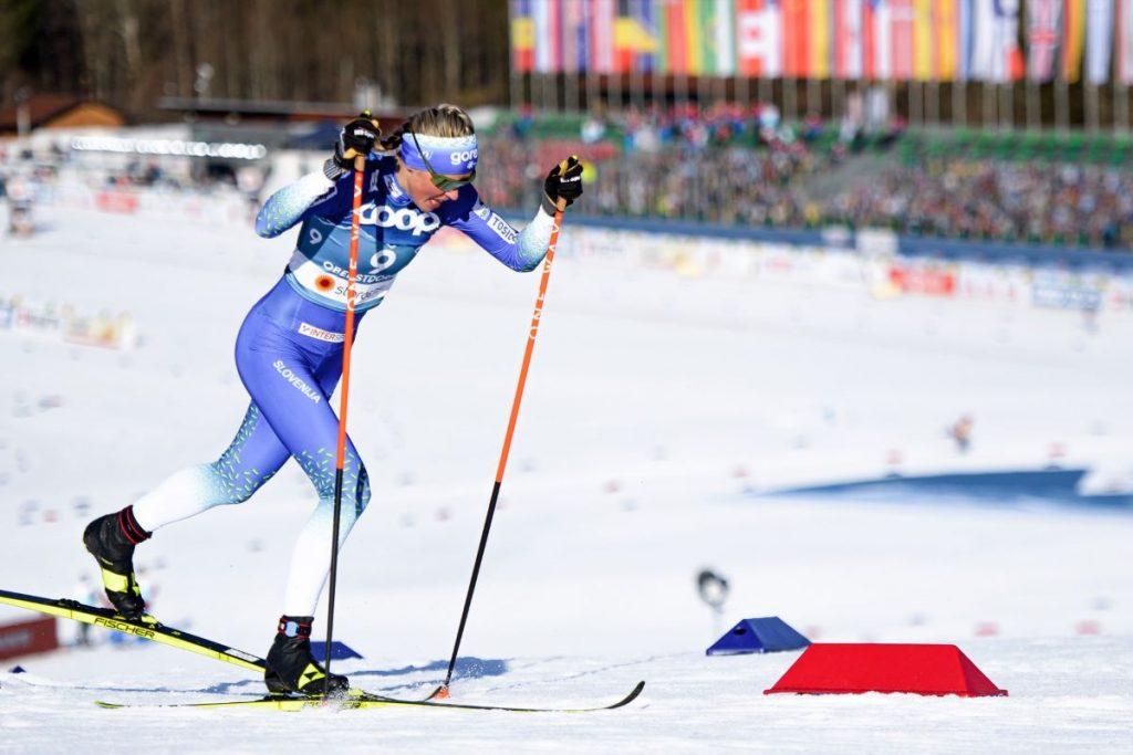 Anamarija Lampič s prvo medaljo na SP