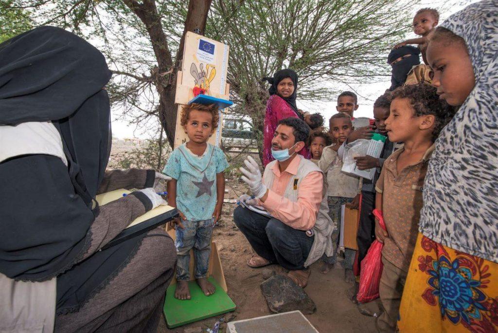 Deset let humanitarne krize v Jemnu
