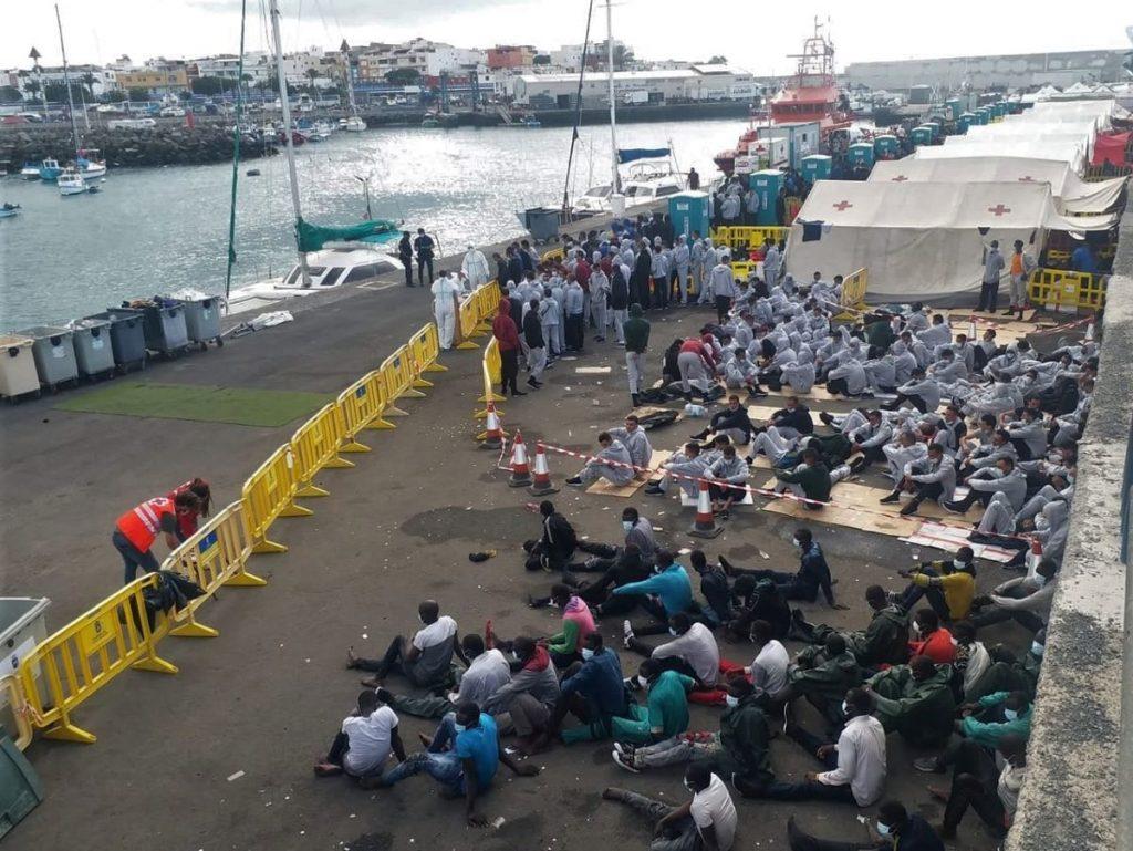 Naval migrantov na Kanarske otoke