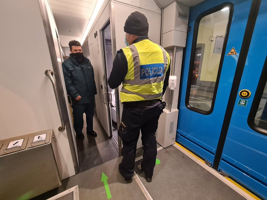 Policijska racija po železnicah EU