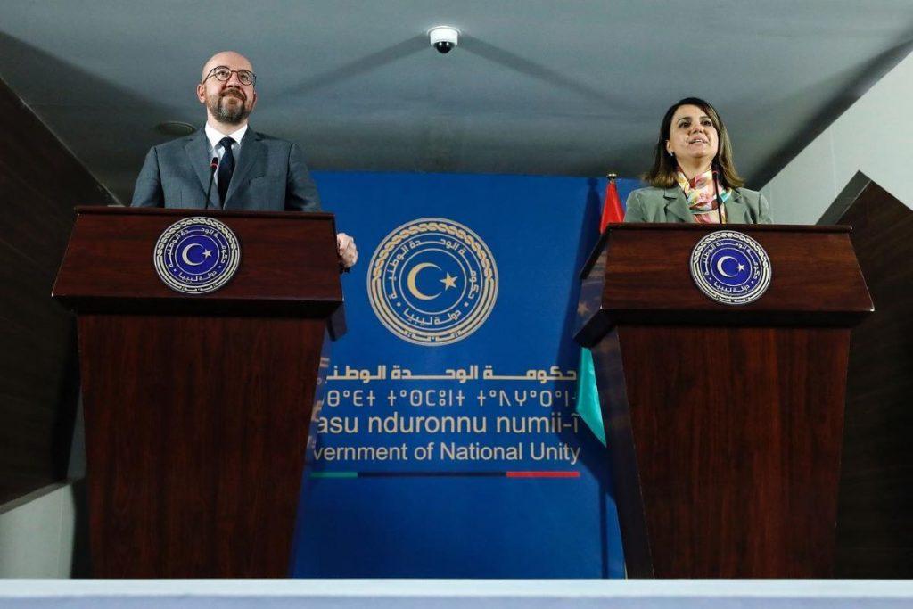 Michel o mirovnem procesu v Libiji in o beguncih