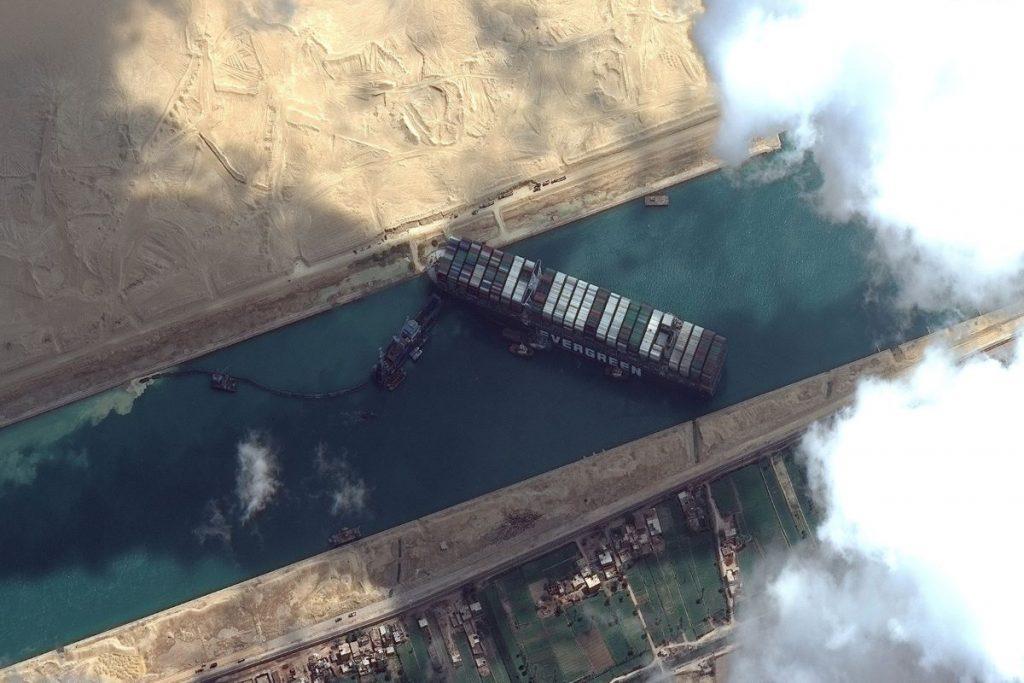 Suez je pokazal na ranljivost svetovne trgovine