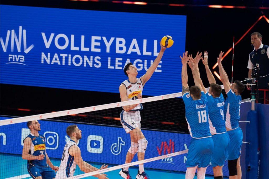 Izjemna prva zmaga v Ligi narodov proti Italiji