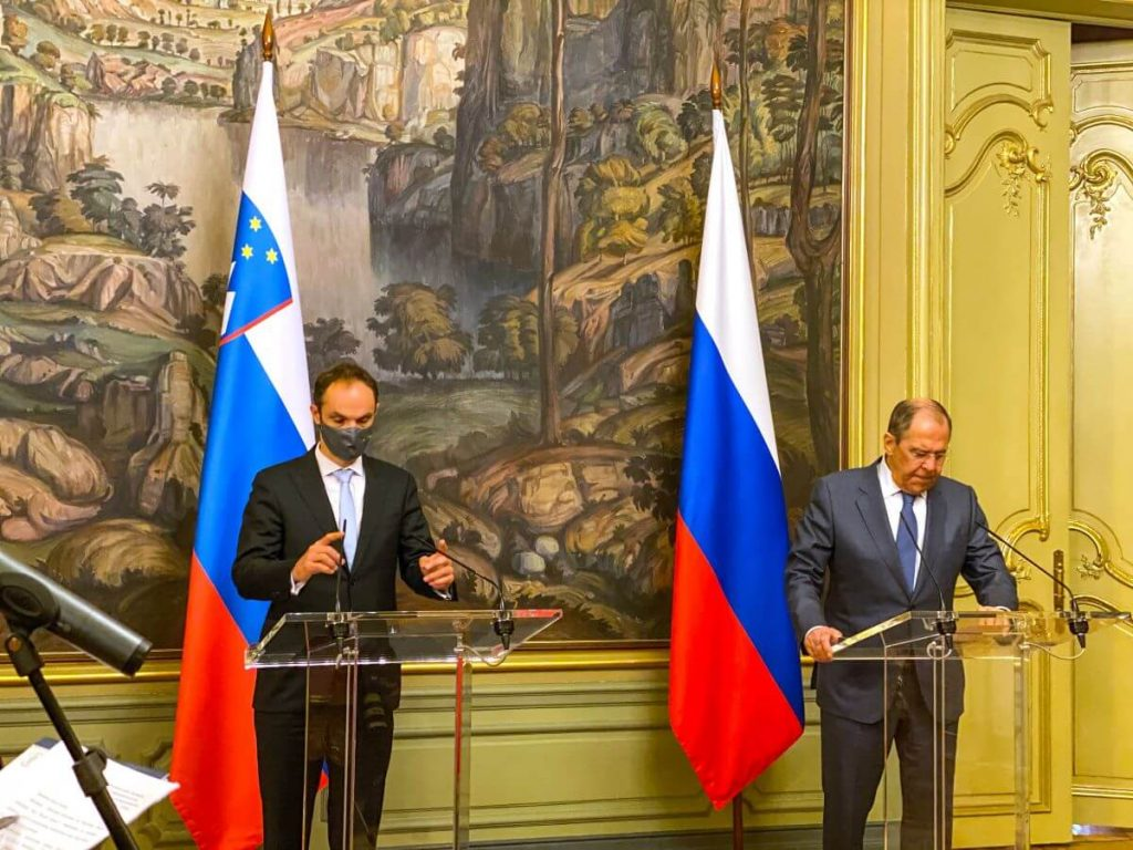 Obisk Moskve za zmanjšanje napetosti