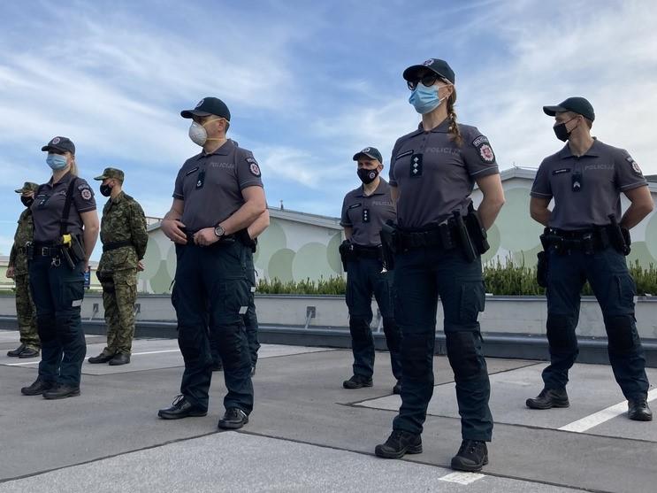 Policijske okrepitve iz tujine na slovenski južni meji