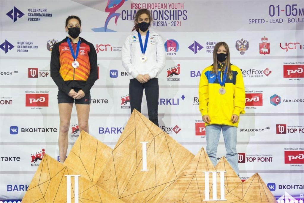 Rekordnih deset medalj z mladinskega evropskega prvenstva