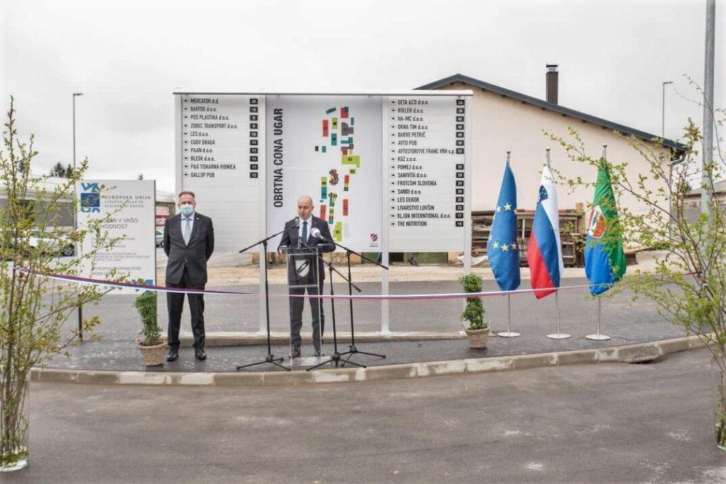 Še druga letošnja investicija v industrijsko zono v Ribnici