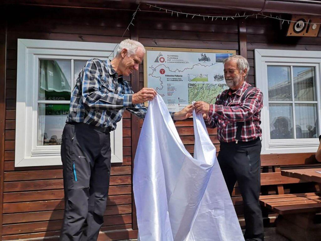 Prvi korak prenove Slovenske planinske poti