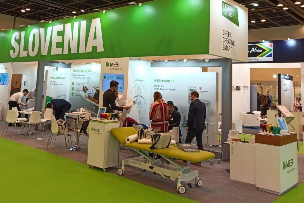 Zaradi pandemije je zdravstveni sejem v Dubaju še pomembnejši