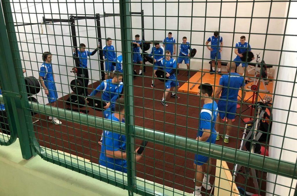 Slovenski mladi rokometni upi pred evropskim prvenstvom