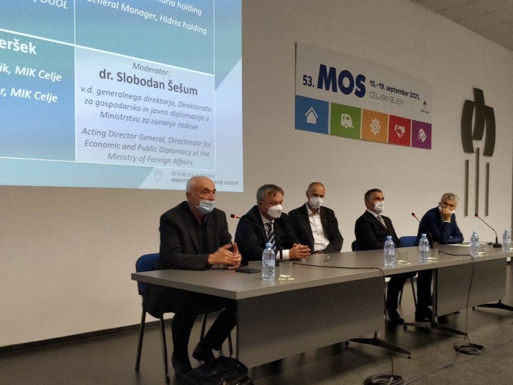 Dan slovenske gospodarske diplomacije na sejmu MOS v Celju
