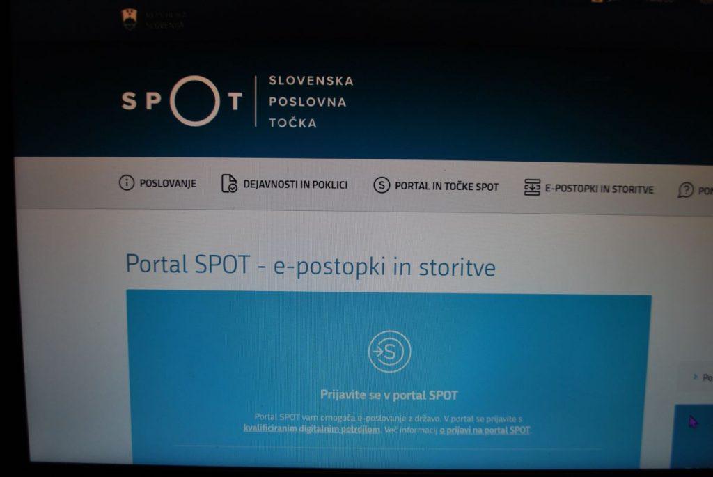 Kar dve leti za obsežno prenovo portala SPOT
