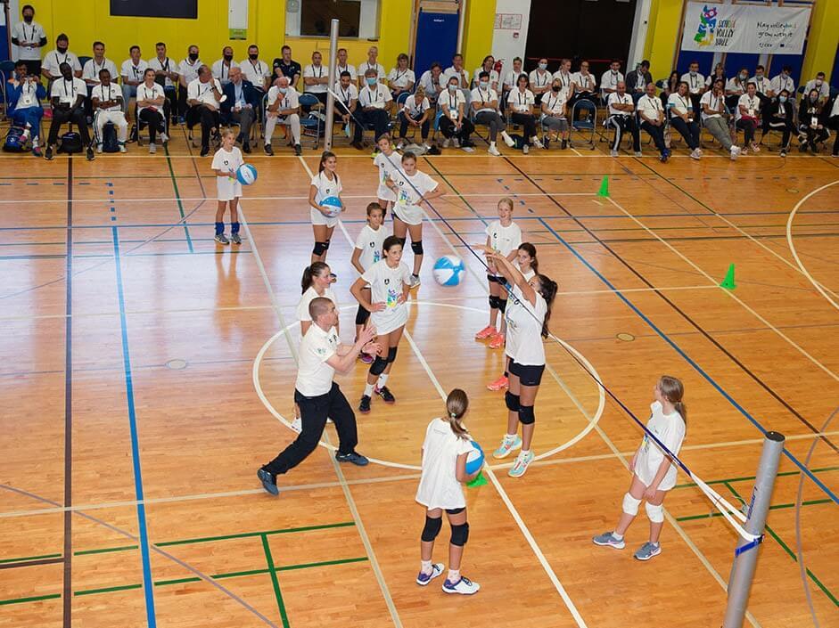 Najbolj intenziven teden Odbojkarske zveze Slovenije