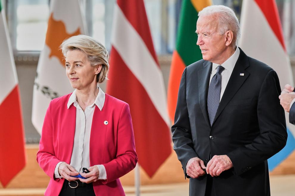 Uvodna seja evropsko-ameriškega Sveta za trgovino in tehnologijo