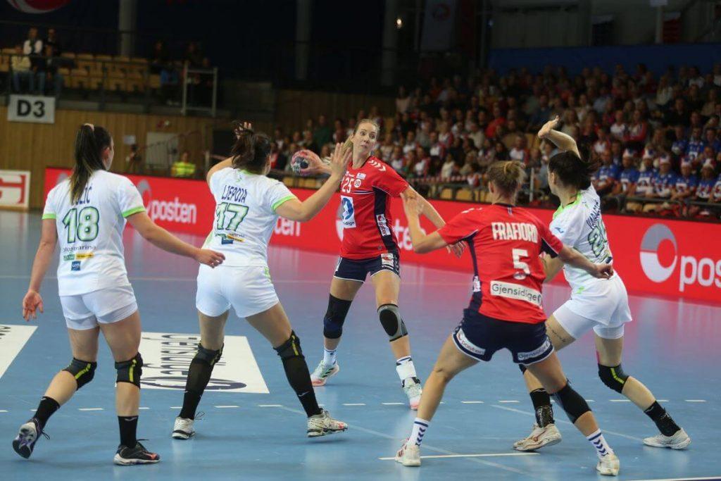 Evropske prvakinje so bile premočne za oslabljeno Slovenijo